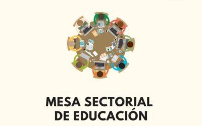 5/06/20: Mesa Sectorial: Plan de Contingencia, Actos públicos funcionarios, F. en prácticas, ATP y final de curso