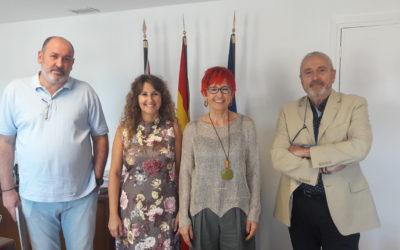 Reunión del Sindicato AFAPNA con la Consejera de Salud