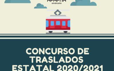 CONCURSO DE TRASLADOS ESTATAL: Zonificación y supresión de plaza