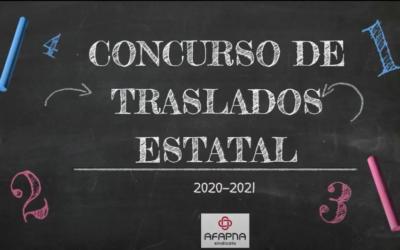 AFAPNA TE EXPLICA EL CONCURSO DE TRASLADOS 2020 – 2021