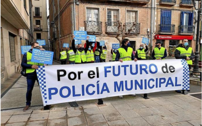 Por el futuro de Policía Municipal de Estella.