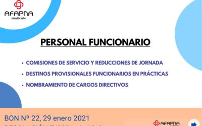 GUÍA EXPLICATIVA COMISIONES DE SERVICIO Y REDUCCIONES DE JORNADA. FUNCIONARIOS