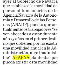 AFAPNA pide movilidad para los funcionarios de la ANADP
