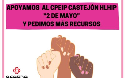 AFAPNA con la comunidad educativa del CPEIP de Castejón