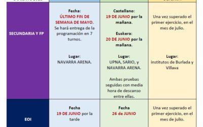 MESA SECTORIAL 12 MARZO: Oposiciones junio 2021 y otros asuntos