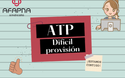 ATP difícil provisión: Adjudicaciones provisionales. OPE 2021: Califiaciones especialidades