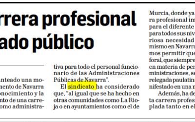AFAPNA pide la carrera profesional para todo el empleado público